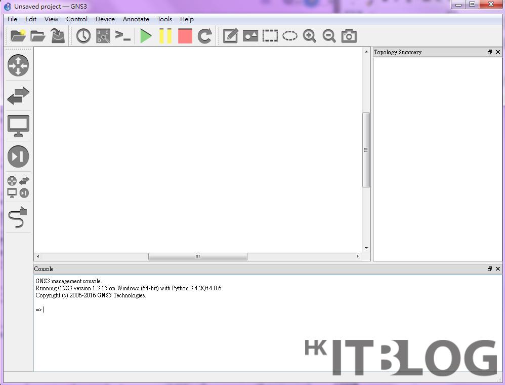 自建網路模擬器:GNS3 安裝與測試輕鬆搞定!